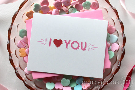 Valentines Card | I Heart You