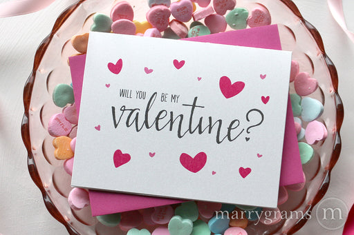 Valentines Card | Will You Be My Valentine