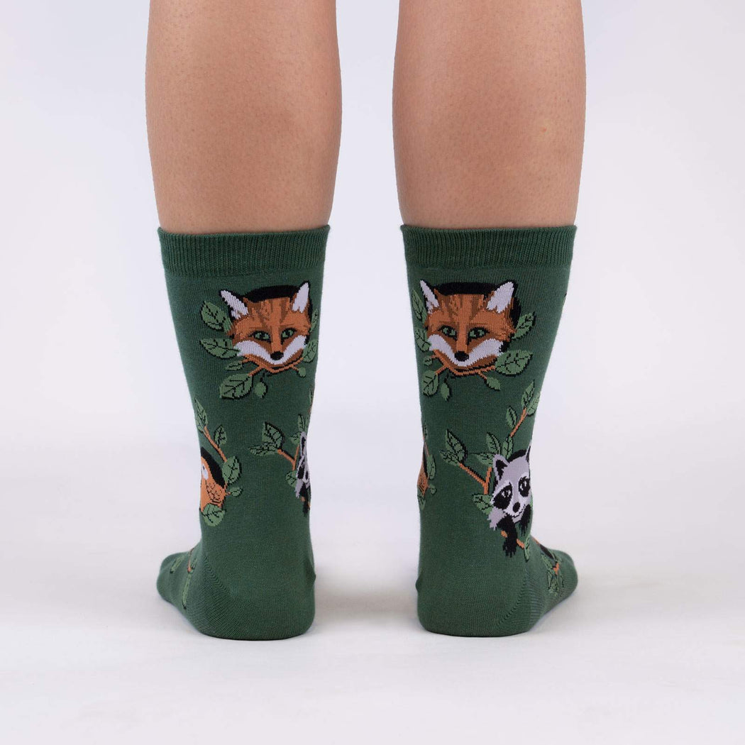 Woodland Watchers Women's Crew Socks