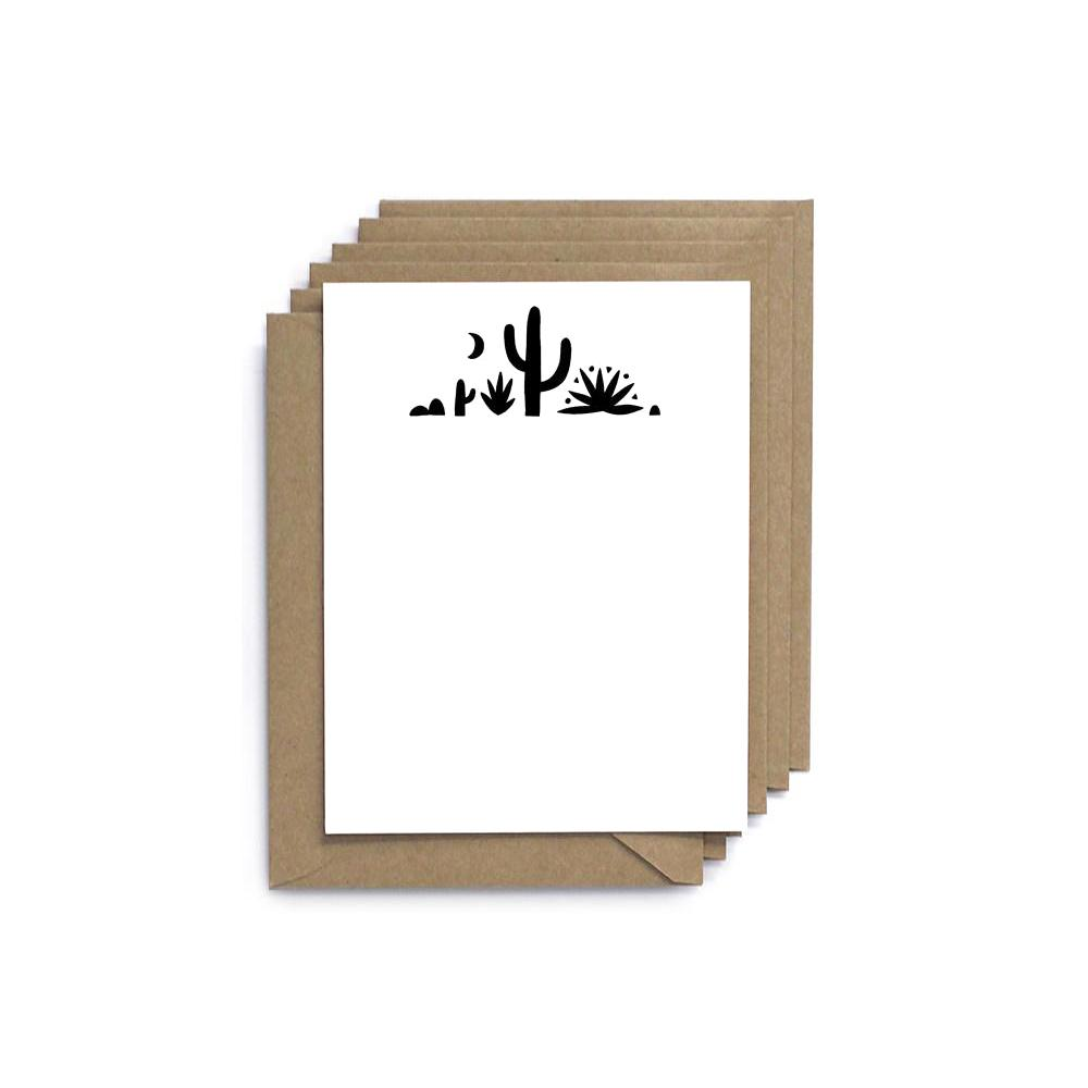 Cactus Flat Note Card (Set of 6)