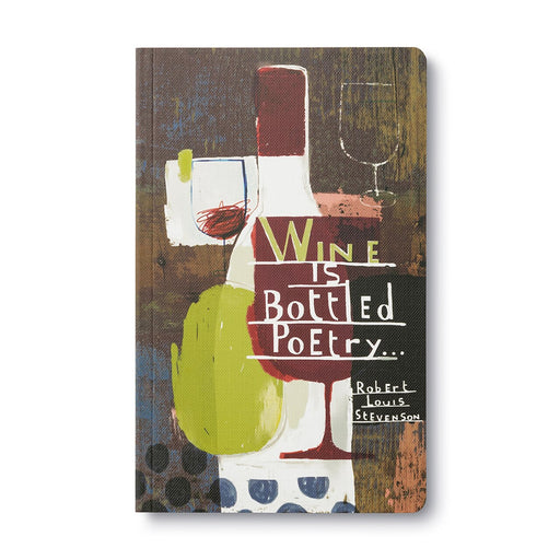 Wine is Bottle Poetry Journal