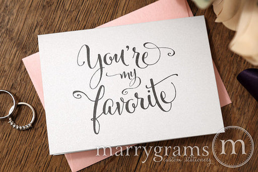 You're My Favorite Card Whimsical Style