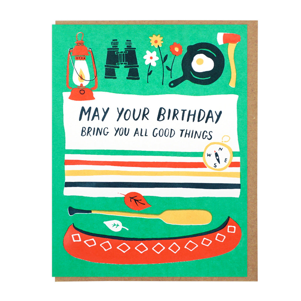 All Good Things Birthday Card