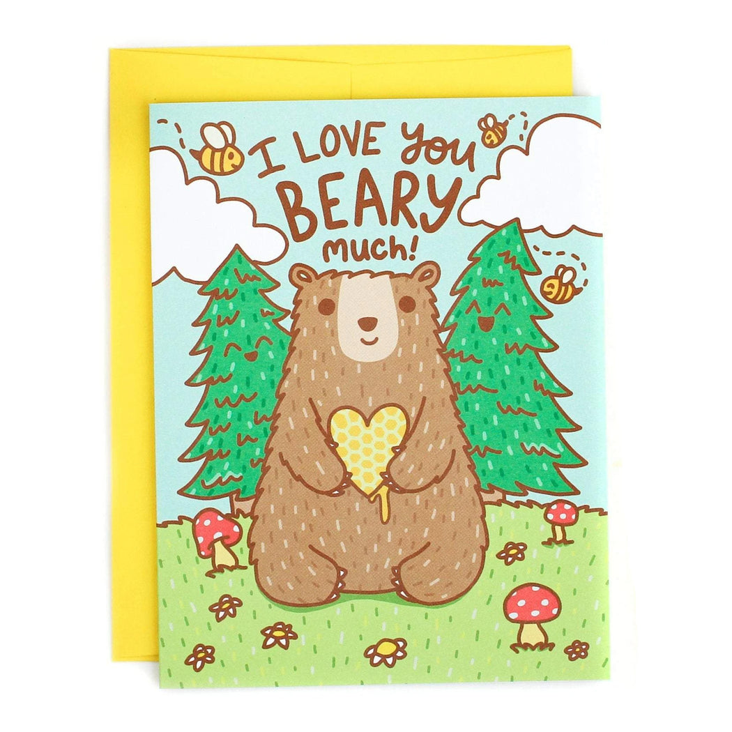 I Love You Beary Much Card