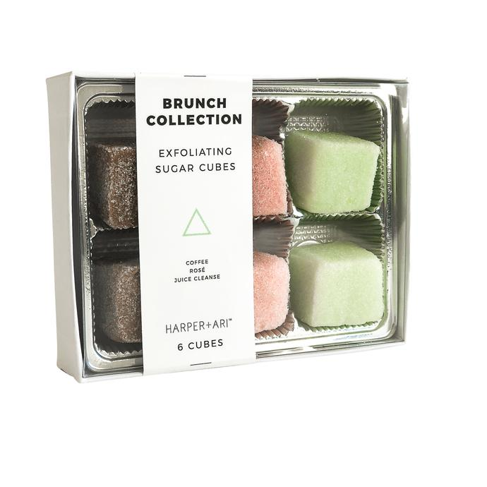 Exfoliating Sugar Cubes - Mini Box of 6 - Brunch Collection