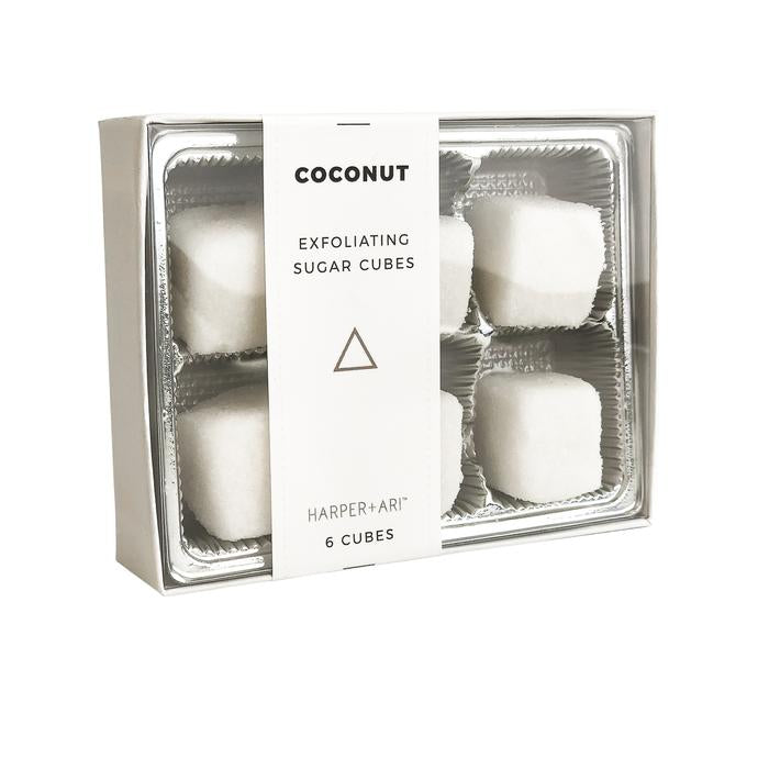 Exfoliating Sugar Cubes - Mini Box of 6