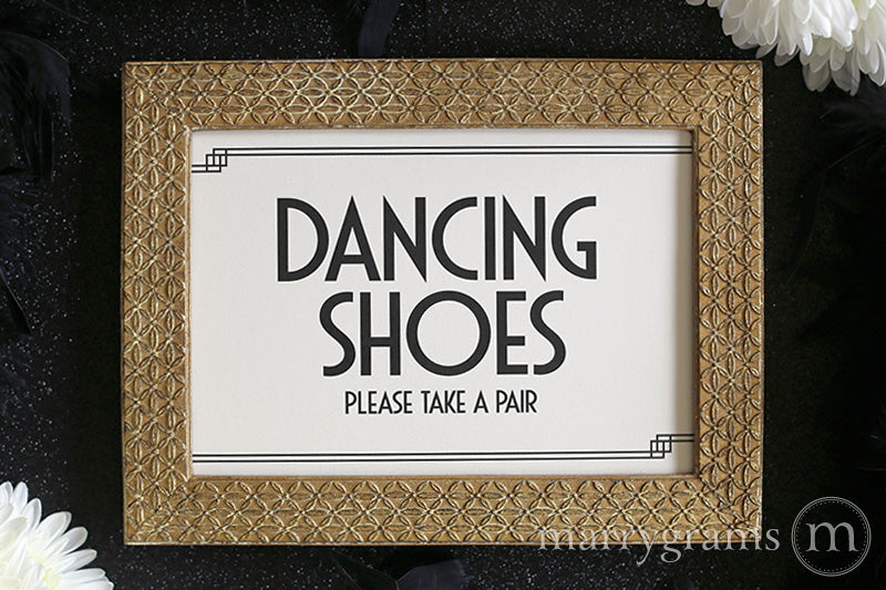 d61ede6031a0b Dancing Shoes Flip Flop Basket Sign Deco Style