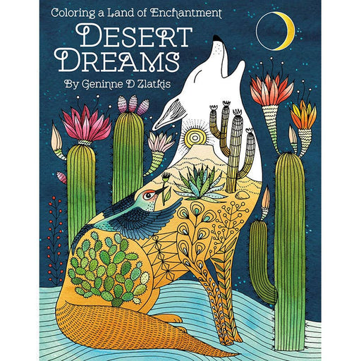Desert Dreams Coloring Book