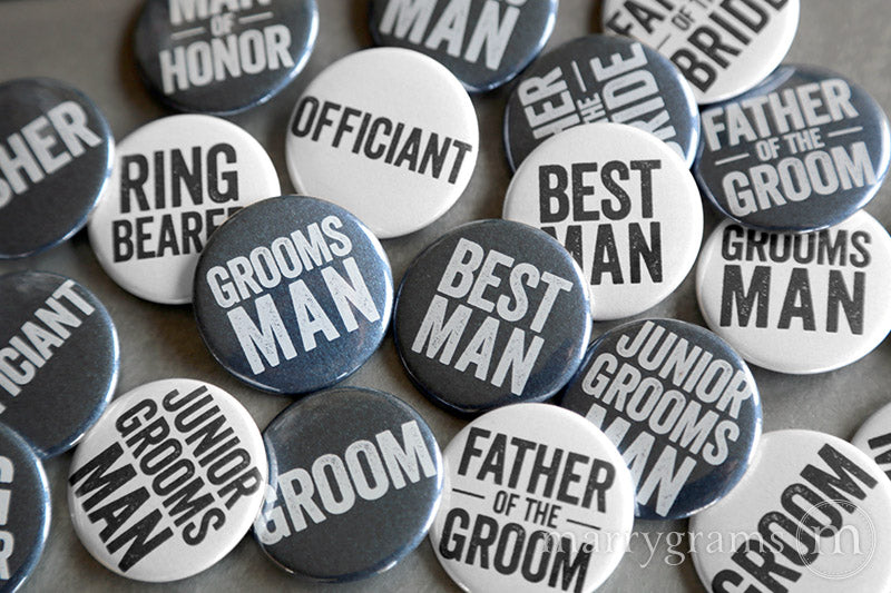 Don't Get Me... Groomsman Button Cards