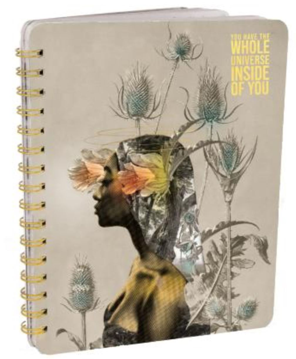 Universe Inside of You Ring Notebook
