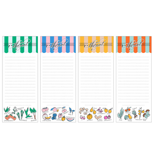 Seasonal Market List Notepad Set
