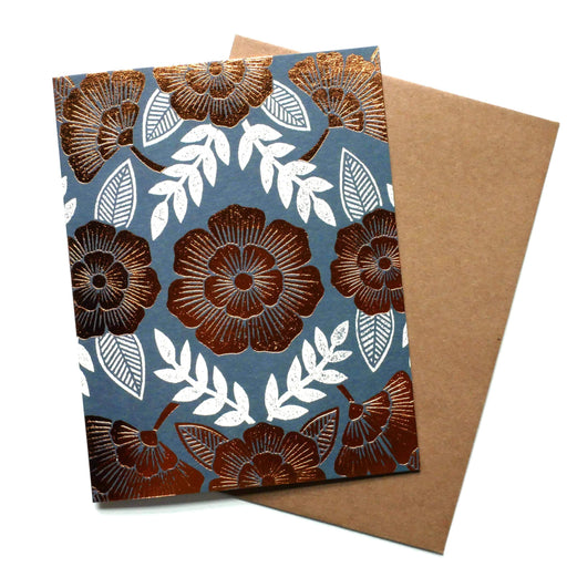 Foil Stamped Blank Floral Cards (Box Set)