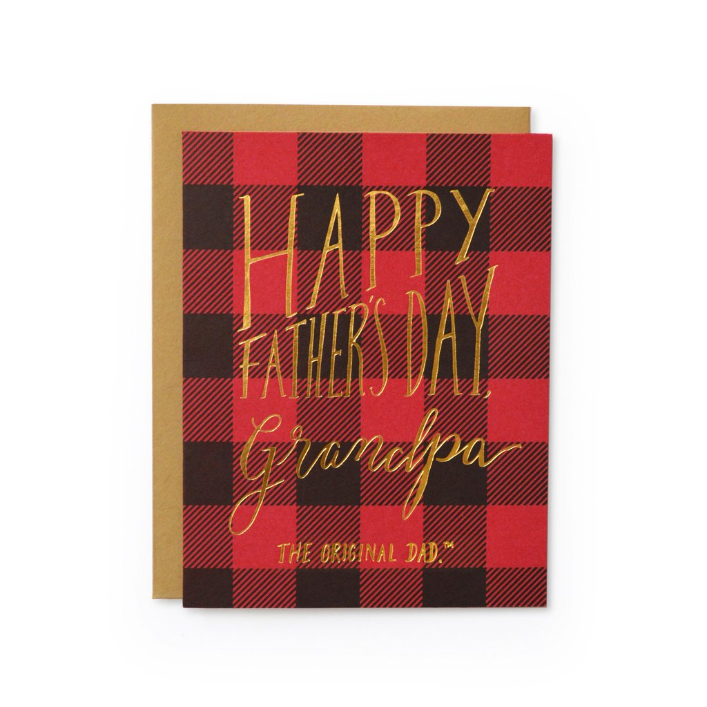 Grandpa Original Dad Card