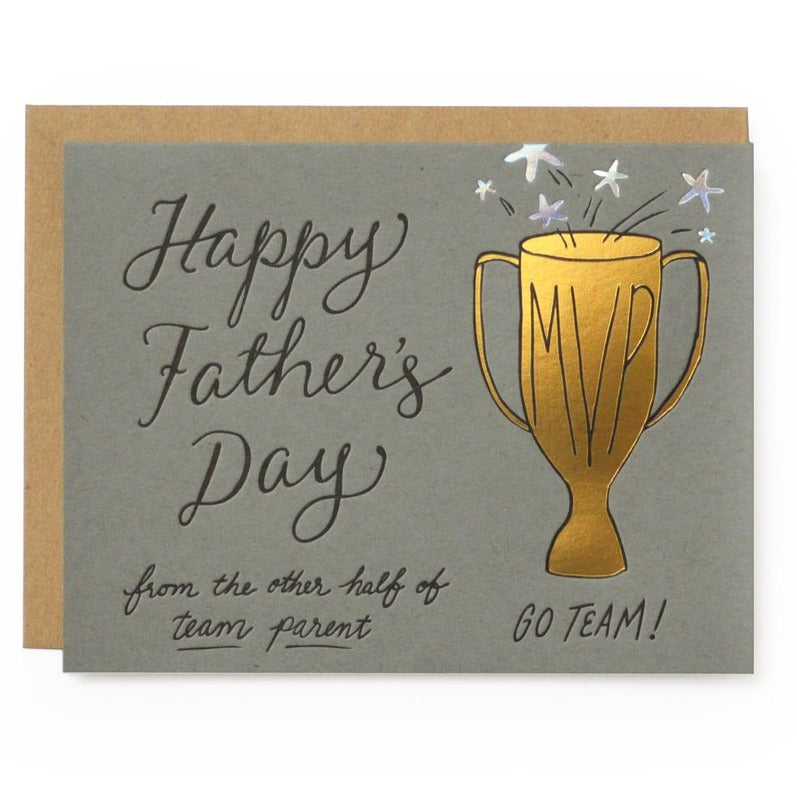 Team Parent Father's Day Card