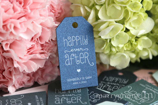 Happily Ever After Favor Tags