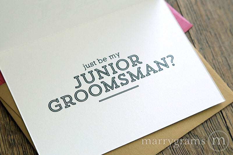 This Was All Her Idea Be My Groomsman Card