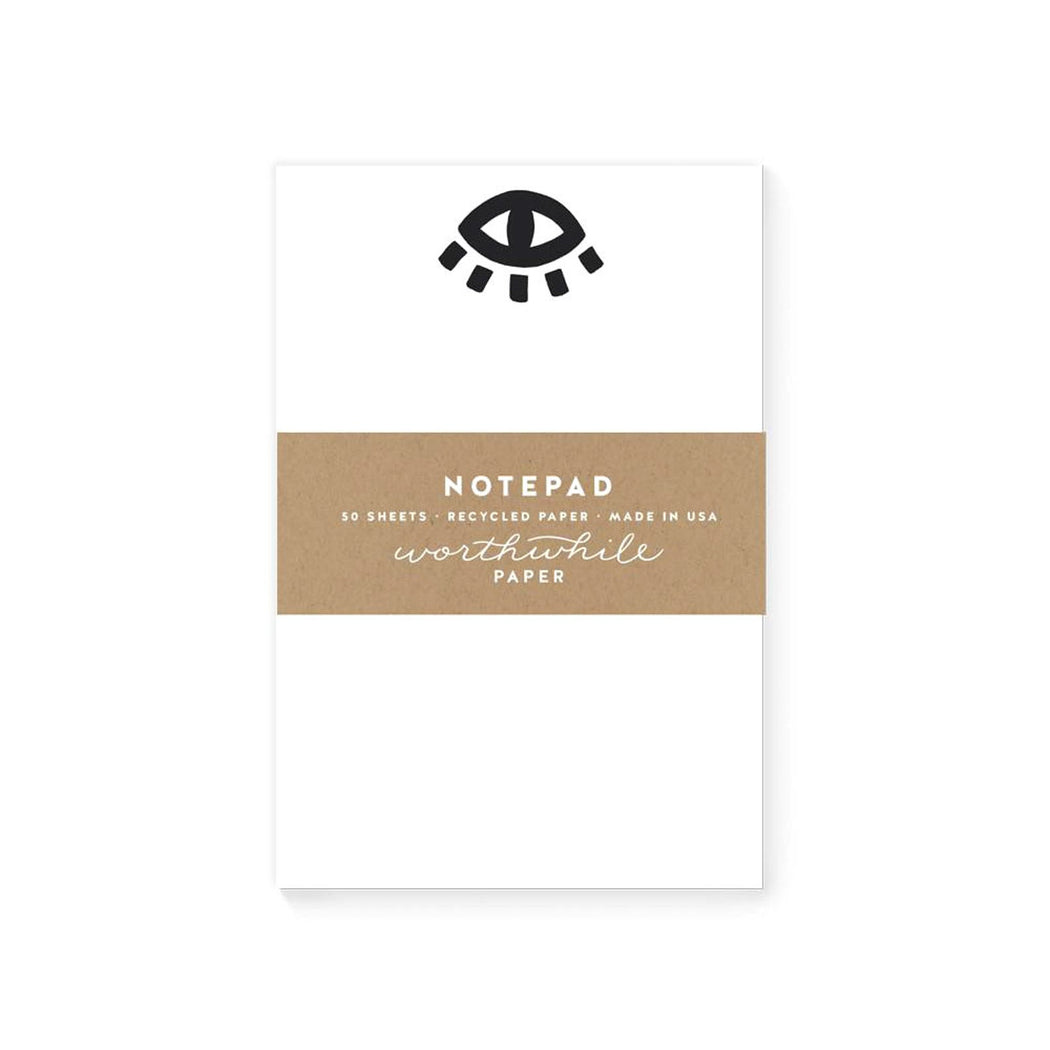 Eye Illustration Notepad
