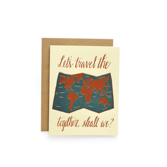 Travel the World Together Card