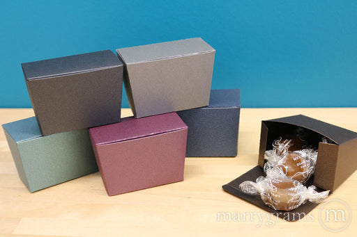 Trapezoid Wedding Favor Box