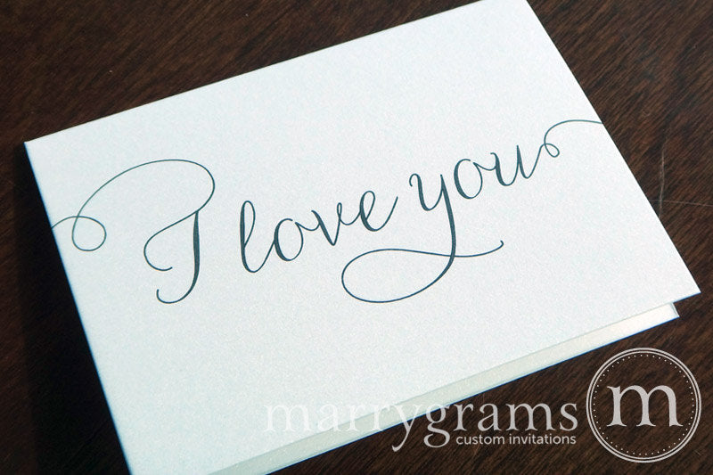 I Love You Card Thin Style