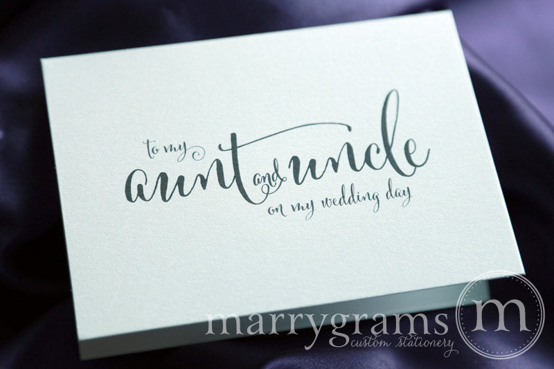 To My Family Wedding Day Card Whimsical Style