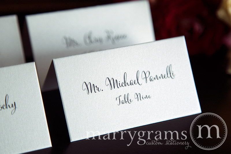 Reception Escort Cards Whimsical Style
