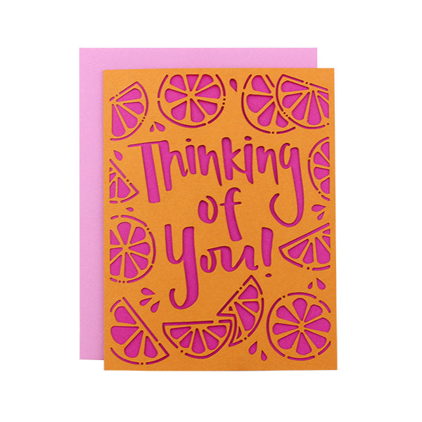 Thinking of You Laser Cut Card