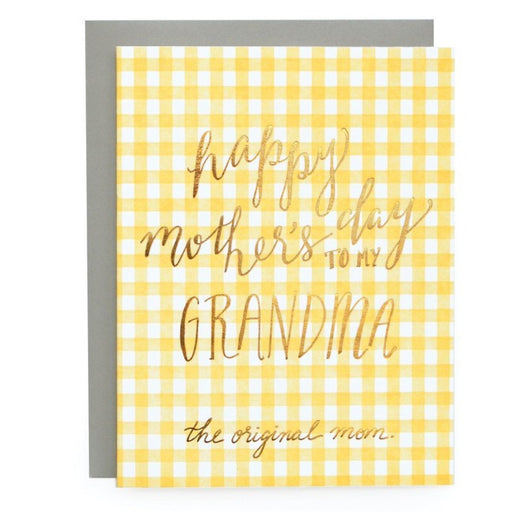 Mother's Day Grandma Card