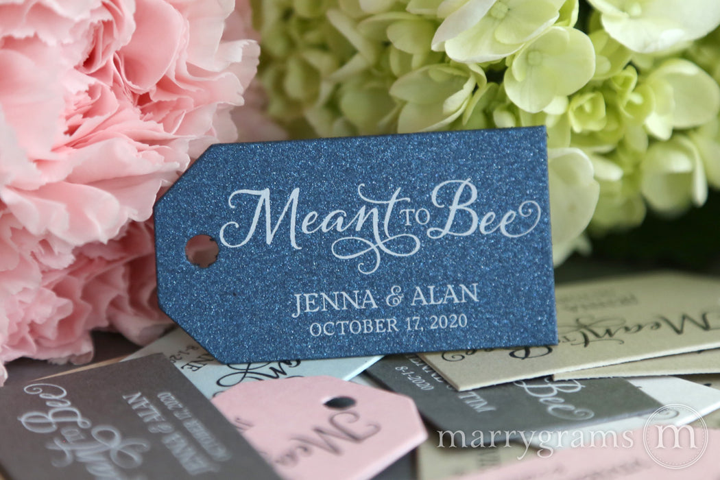 Meant to Bee Favor Tags