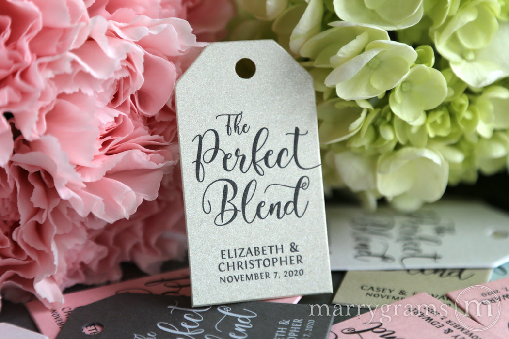 The Perfect Blend Favor Tags Darling Style