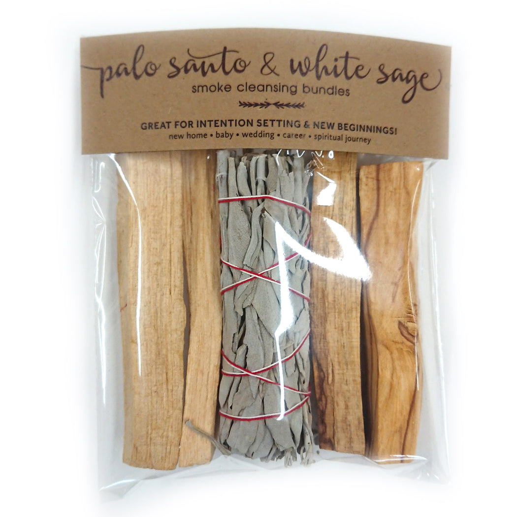 Palo Santo & White Sage Smudge Bundle