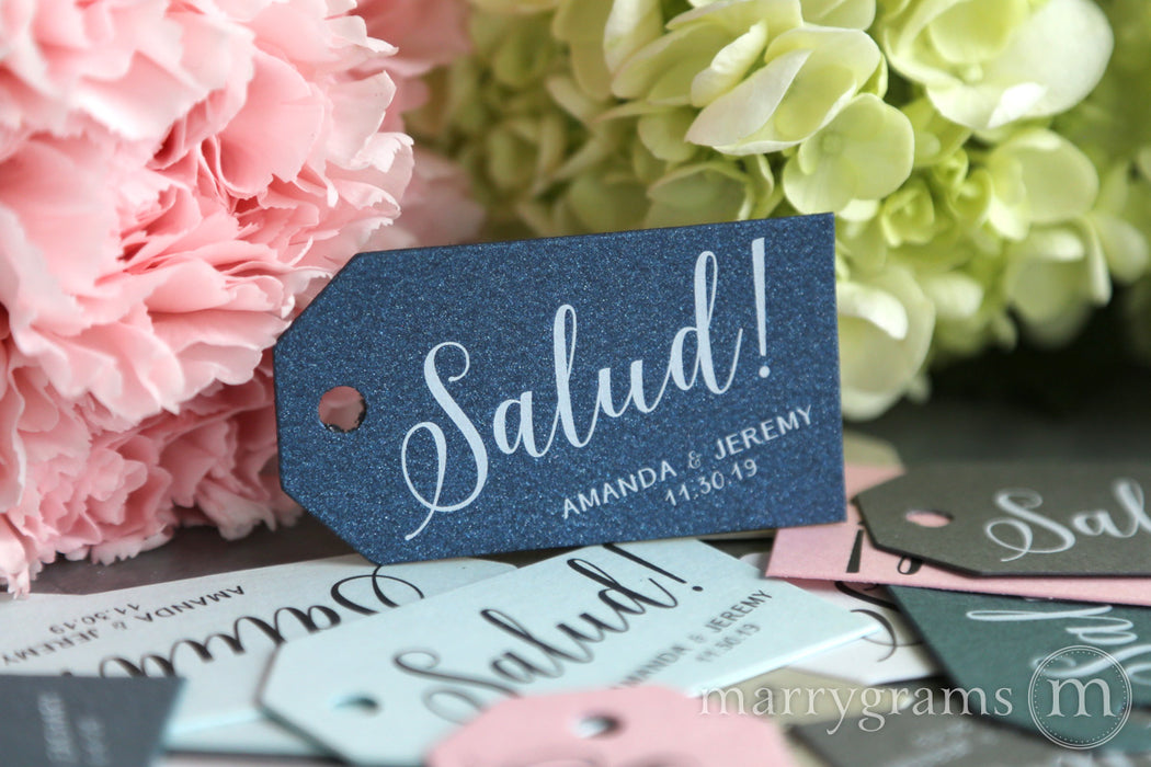 Salud! Custom Favor Tags