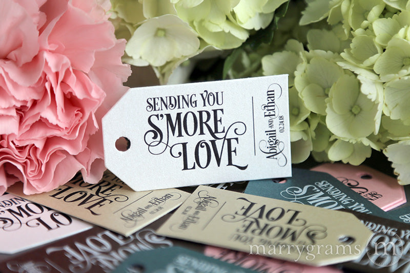 Sending You S'more Love Favor Tags Enchanting Style