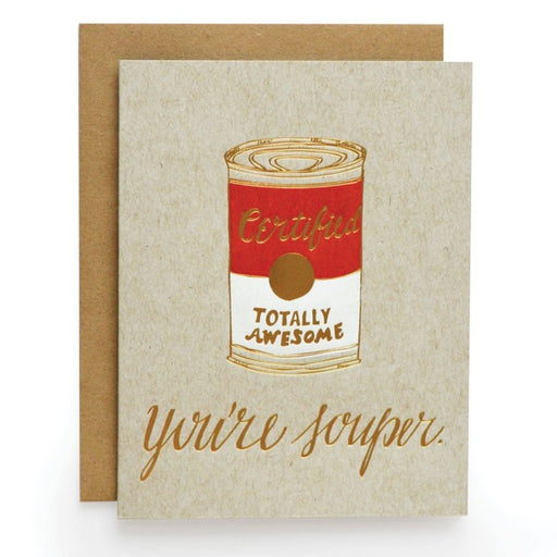 You're Souper Card
