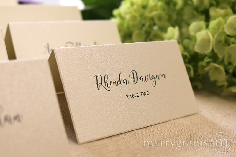 Reception Escort Cards Darling Style