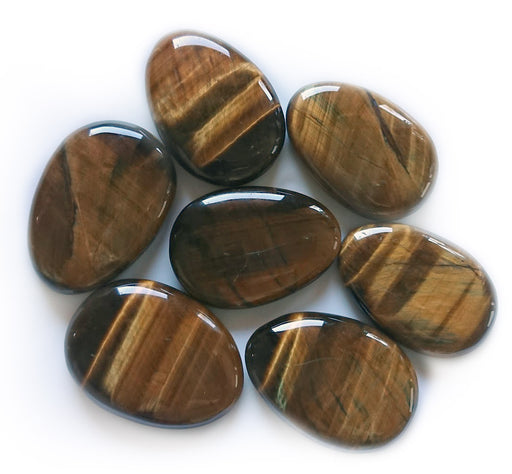 Tiger Eye Worry Stone