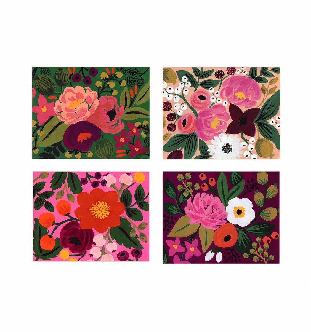 Vintage Blossoms Boxed Card Set