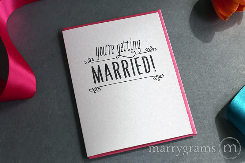 You're Getting Married! Wedding Card