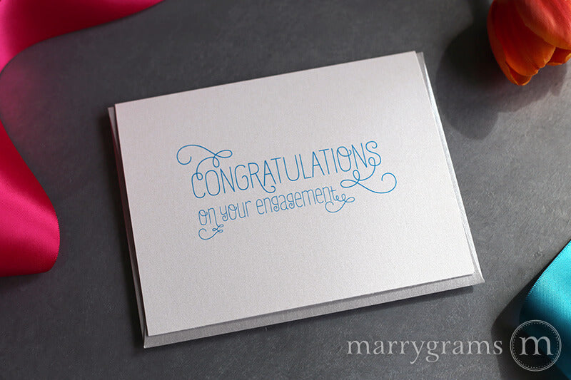 Congratulations on Your Engagement Card