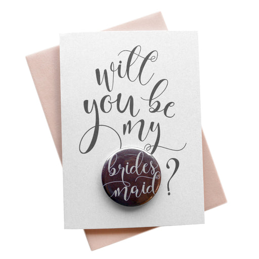Will You Be My Button Cards Darling Style