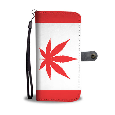 Wallet Phone Cases Canada Flag
