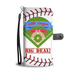 Little League is a Big Deal! Wallet Case - Trekmor