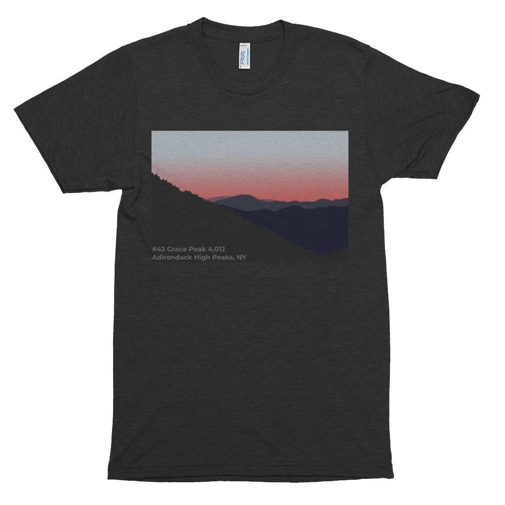 #42 Grace Peak of the 46 Adirondack High Peaks - American Apparel - Trekmor