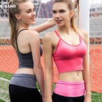 Low Impact Long Line Removable Padded Sports Bra - Trekmor