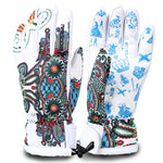 winter ski gloves waterproof windproof  men and women - Trekmor