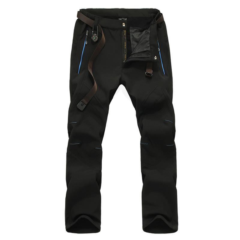 Men's Winter Softshell Inner Fleece Pants - Trekmor