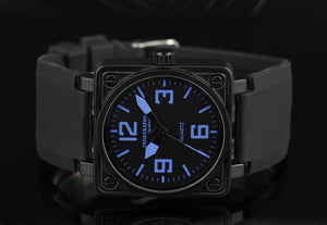 INFANTRY Square Analog Military Watch - Trekmor