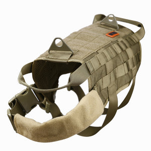 Tactical Dog Molle Vest/Harness - Trekmor