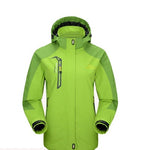 Women Hiking Jacket Waterproof Windproof Shell - Trekmor