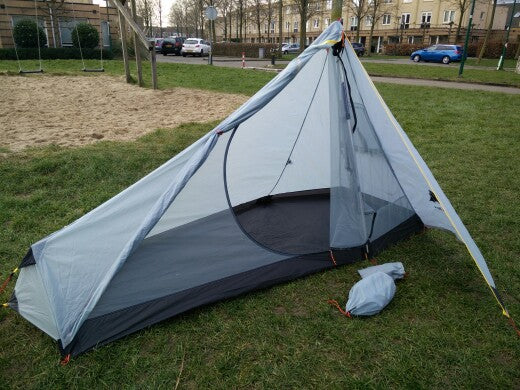 740g Oudoor Ultralight Camping Tent 3 Season 1 Single Person Tent - Trekmor